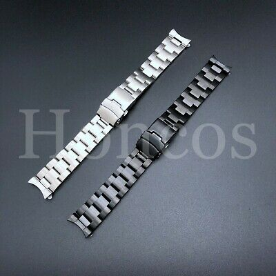 $ CDN25.94 • Buy 22mm Curved End Solid Stainless Steel Watch Oyster Bracelet, Band Seiko SKX007K2