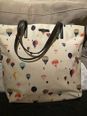 AU50 • Buy Kate Spade Balloon Tote Bag Coated Cotton Pink Lining