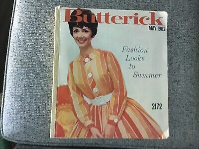 $70 • Buy Vintage Butterick Pattern Book May 1962