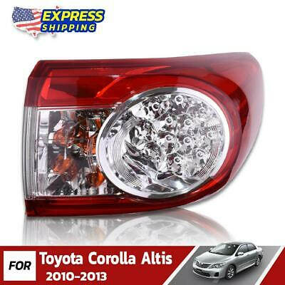 $92.94 • Buy RH Outer Tail Lights Lamp Assembly Fit For Toyota Corolla Altis Sedan 2010-2013