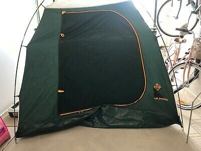 AU45 • Buy Four-man Camping Tent - OZ Trail 4V Dome Tent With Cover-green-good Condition