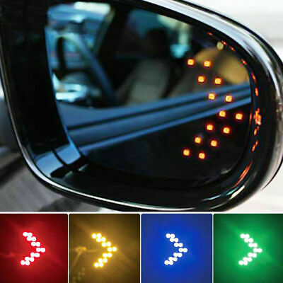 AU4.33 • Buy 2pcs Car Side Rear View Mirror 14-SMD LED Lamp Turn Signal Light Accessories YNS