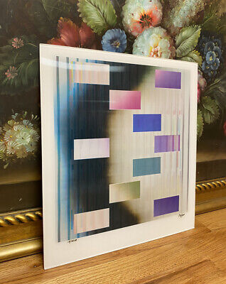 $1200 • Buy Contemporary Modern Yaakov Agam Agam-O-Graph RBN2 IN & OUT Signed 15/25 AP