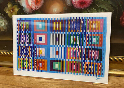 $2100 • Buy MEMORIES - Yaacov Agam - Signed And Numbered