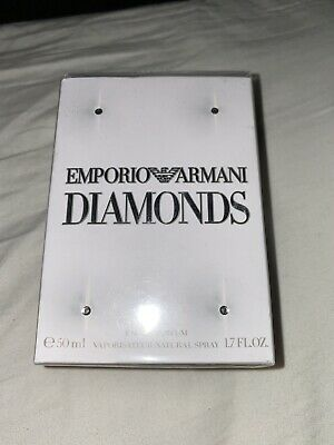 Emporio Armani Diamonds Perfume 50ml Brand New In All Original Packaging • 8.30£