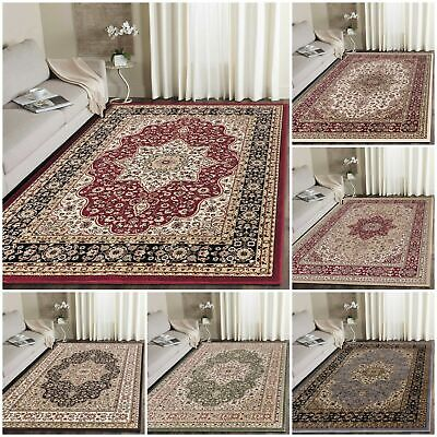 Traditional Rugs Vintage Style Classic Small Large Living Area Rugs Floor Runner • 97£