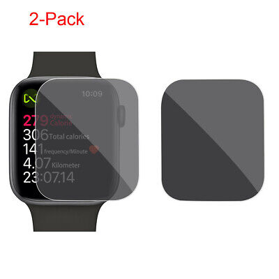 $ CDN8.18 • Buy 2pcs For Apple Watch Series 4 44mm Privacy Anti-Spy TPU Film Screen Protector