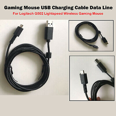 AU20.71 • Buy Charging Cable Spare Part Fit For Logitech G502 Lightspeed Wireless Gaming Mouse