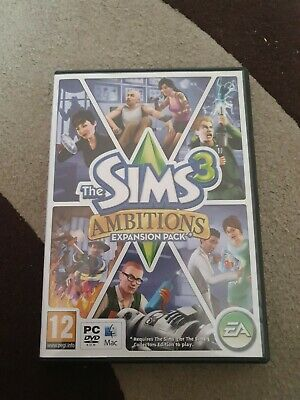 The Sims 3 Ambitions Expansion Pack Game PC • 7.99£