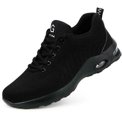 £24.99 • Buy Steel Toe Cap Safety Shock Absorbing Trainers Mens Womens Boot Hiking Shoes