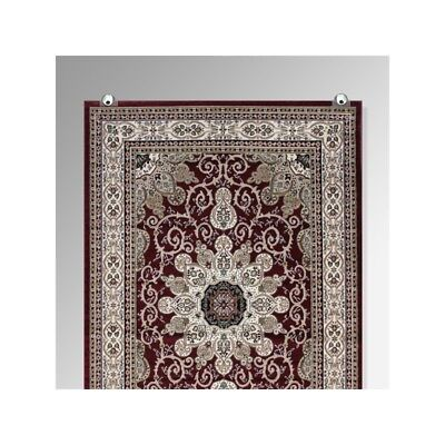 Carpet Oriental Rug Tapestry Wall Hanging Display Hang Fabric Textile Art Hanger • 5.99£