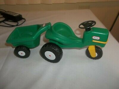 $20 • Buy Little Tikes Dollhouse Tractor And Wagon