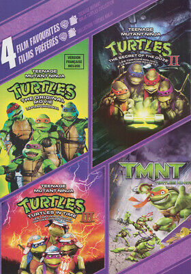 $ CDN21.99 • Buy 4 Film Favorites : Teenage Mutant Ninja Turtles 1, 2, 3, And Tmnt (bilingu (dvd)