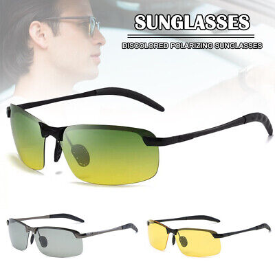 AU13.76 • Buy Aluminium Polarized Photochromic Sunglasses Men Women Driving Sport Sun Glasses