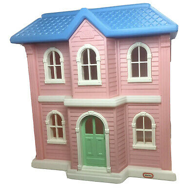 $247.78 • Buy Vintage LITTLE TIKES Tykes Barbie Size Dollhouse Doll House GUC