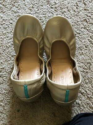 $ CDN227.88 • Buy Tieks Metallic Champagne *LIMITED RELEASE* Size 8 Scuff On Left Heel Front Right