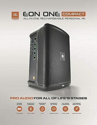 $430 • Buy JBL EON One Compact All-in-One Rechargeable Personal PA Speaker Monitor System