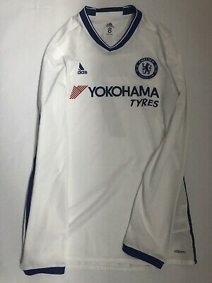 Chelsea 2016/17 Kante Player Issue Third Jersey Soccer Adidas Size 8 • 85.87£