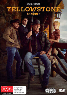AU35.97 • Buy Yellowstone: Season 2 - DVD (NEW & SEALED)
