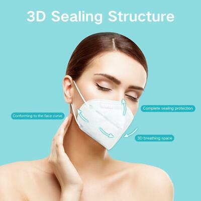 AU12.99 • Buy N95 KN95 2 Pc Face Mask Mouth Reusable Mask Anti Dust Respirator  AU Seller