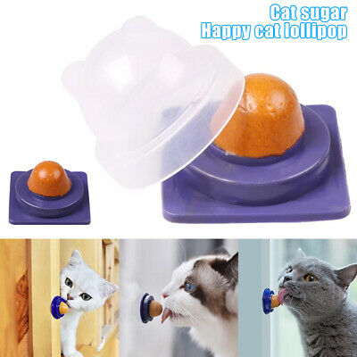 AU11.99 • Buy Cat Treats Catnip Lollipop Pet Snack Nutrition Cream Mint Ball Candy Pet Toys