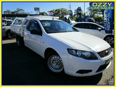 AU6950 • Buy 2009 Ford Falcon FG (LPG) White Automatic 4sp A Cab Chassis