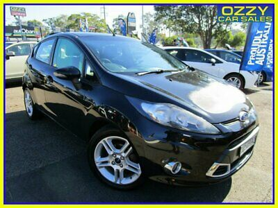 AU5750 • Buy 2010 Ford Fiesta WS Zetec Black Manual 5sp M Hatchback