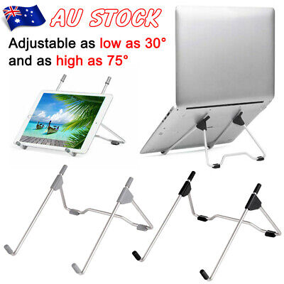 AU12.99 • Buy Portable Foldable Adjustable Laptop Notebook Stand Desk Table Tray Home Office
