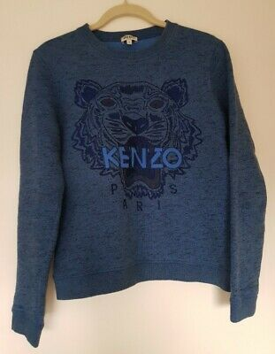 AU240 • Buy Kenzo Tiger Jumper - Blue - Size Small