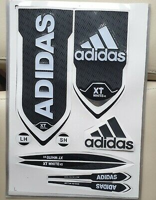 Cricket Bat Stickers Embossed - Adidas Black • 9.99£