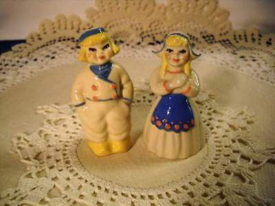 $5 • Buy Vintage Ceramic Arts Studio Miniature Dutch Boy & Girl Figurines