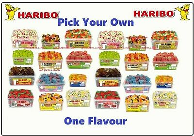 Haribo  🍭Sweet 🍭 Pick Your Own One Flavour  • 6.49£