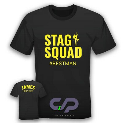 Custom Stag/Hen T Shirts - Various Colours Available • 7.99£