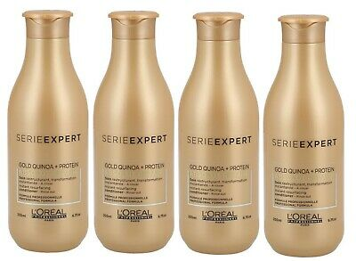4x Loreal Professionnel Serie Expert Absolut Repair Gold Conditioner 200 Ml • 45.66£