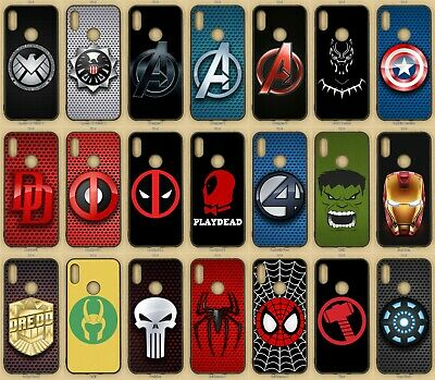 Marvel Rubber Phone Case For Huawei Mate 20, 30, Y6S, Y6, Y7,  2018, Pro, Lite • 6.49£