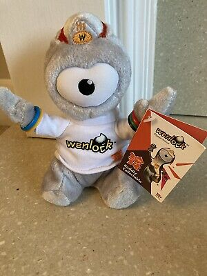 £3.99 • Buy Wenlock Mascot Toy 2012 Olympics Official Product - New With Tag