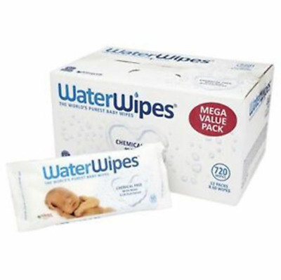 AU99 • Buy Water Wipes - The Worlds Purest Baby Wipes - 12x60 Bulk Carton