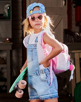 £13.99 • Buy !! Ex Chainstore !! Girls 2pc Set Dungarees And T-shirt All Sizes Bnwt Free P&p