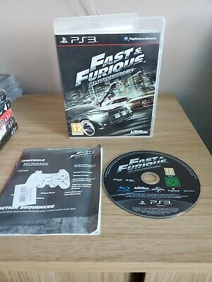 Fast And Furious: Showdown Game Ps3 Mint • 7.95£