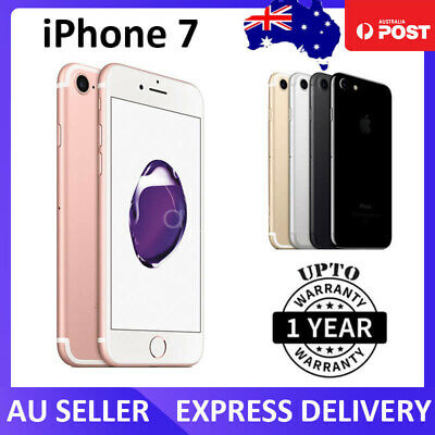 AU299 • Buy Apple IPhone 7 32GB Unlocked Refurbished Excellent As New Phone 1 Month Warranty