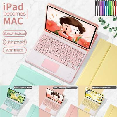 AU51.98 • Buy For IPad 5th 6th 7th Gen Air Pro 10.5  11  Keyboard W Touchpad Stand Case Cover