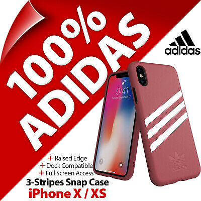 AU30.09 • Buy Adidas Originals 3-Stripes Snap Canvas Snap Case Cover For Apple IPhone X / XS
