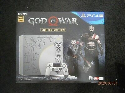 AU1400 • Buy PS4 Pro God Of War Console 1Tb Brand New In Box PAL AUS Rare