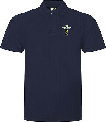 RAF Medic Brevet - Royal Air Force Embroidered Polo Shirt • 14.99£