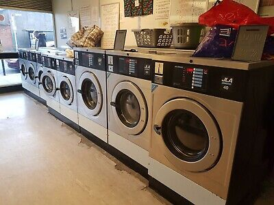 JLA Ipso Coin Operated Commercial Industrial Laundry Washing Machine.Full Set Up • 16,500£