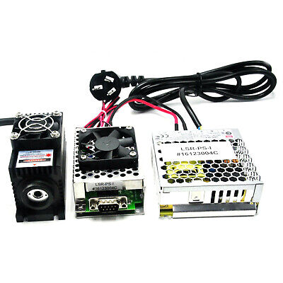 AU591.15 • Buy 808nm 1w 1000mW Infrared IR Laser Module+TTL/Analog+TEC Cooling+85~265V