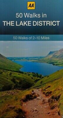 AA - 50 Walks In The Lake District *FREE P&P* • 5.99£