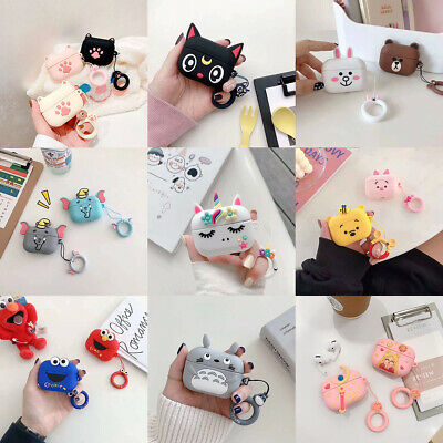 For AirPods Pro Case Cartoon Mickey Minnie Silicone Earphone Charging Case Cover • 2.99£