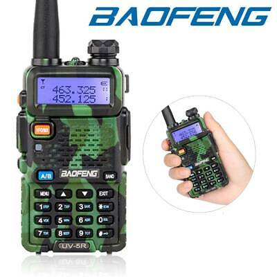 Baofeng UV-5R Dual Band UHF/VHF Walkie Talkie Ham Two Way PMR446 Radio +Earpiece • 18.95£