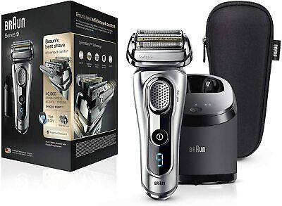 AU546.90 • Buy Braun Series 9 Men's Rechargeable Waterproof Electric Shaver 9292cc - Silver